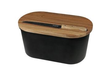 Хлебница Husla + нож и разделочная доска 20 х 22 х 38 см (73935) от Rozetka