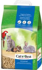 Наполнитель для кошачьего туалета Cats Best Universal Древесный комкующий 5.5 кг (10 л) (4002973000465) от Rozetka