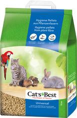 Наполнитель для кошачьего туалета Cats Best Universal Древесный комкующийся 11 кг (20 л) (4002973000847) от Rozetka