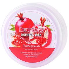 Акция на Антивозрастной регенерирующий крем для лица Deoproce Natural Skin Pomegranate с Гиалуроновой кислотой и Экстрактом Граната и Витамином Е 100 мл (8809240760680) от Rozetka