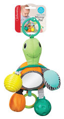 Навесная игрушка с зеркалом Infantino Черепашка (216322I) (3021105163220) от Rozetka