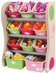 Органайзер с разноцветными ящиками Step 2 Fun Time Room Organizer Розовый/Салатовый (733538827497) от Rozetka