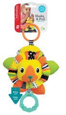 Навесная мягкая игрушка с прорезывателем Infantino Львенок (216184I) (3021105161844) от Rozetka