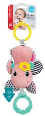 Навесная мягкая игрушка с прорезывателем Infantino Бегемотик (216185I) (3021105161851) от Rozetka