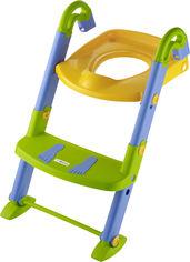 Детское сидение для туалета Rotho Babydesign KidsKit Toilet Trainer 3 в 1 со ступеньками (7290005562167) от Rozetka