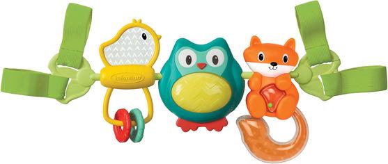Навесные вращающиеся игрушки Infantino Путешественники (216265I) (3021105162650) от Rozetka