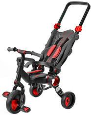 Трехколесный велосипед Galileo Strollcycle Black Красный (GB-1002-R) (9506000120942) от Rozetka