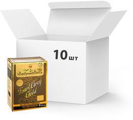 Упаковка Чая черного крупнолистового с маслом бергамота Akbar Earl Grey Gold 80 г х 10 шт (5014176012632) от Rozetka