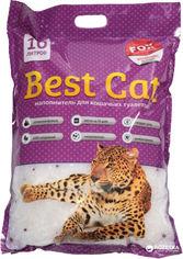Акция на Наполнитель для кошачьего туалета Best Cat Purple lawanda Силикагелевый впитывающий 4 кг (10 л) (SGL010/6907396109635) от Rozetka