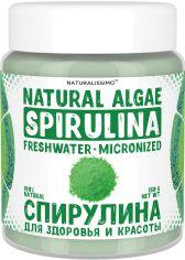 Акция на Спирулина микроводоросль для тела Naturalissimo для коррекции фигуры 150 г (2000000016146) от Rozetka