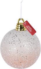 Акция на Елочный шар Christmas Decoration 20 см (CAA724990_glitter) от Rozetka