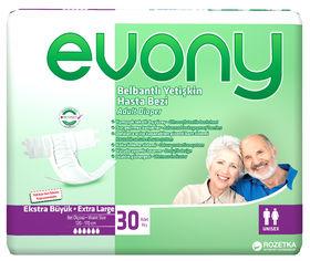 Акция на Подгузники для взрослых Evony 4 Extra Large 30 шт (8690536804092) от Rozetka