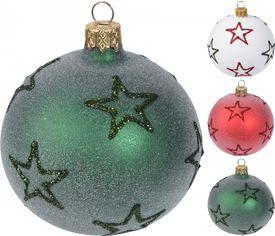 Акция на Набор елочных шаров Home & Styling Collection 6 шт (AVG111530) от Rozetka