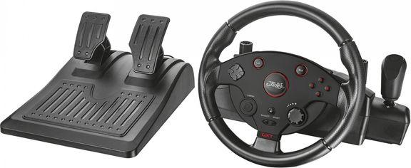 Проводной руль Trust GXT 288 Racing Wheel PC/PS3 Black (TR20293) от Rozetka