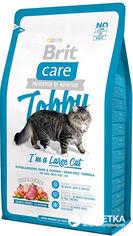 Акция на Сухой корм для кошек крупных пород с курицей и уткой Brit Care Tobby I am a Large Cat 2 кг (8595602512997) от Rozetka