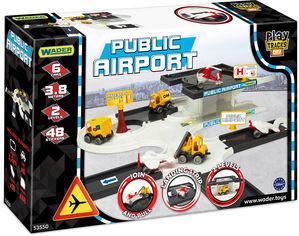 Автомобильный трек Wader Play Tracks City Аэропорт (53550) (5900694535503) от Rozetka