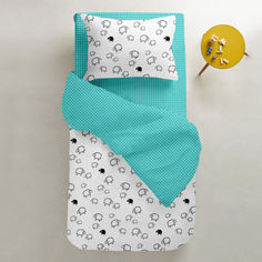 Акция на Комплект постельного белья Cosas Овечка мята 155х215 (4822052026830) от Rozetka