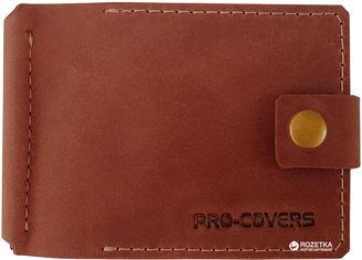 Акция на Зажим для денег Pro-Covers PC03980058 Темно-кирпичный (2503980058002) от Rozetka