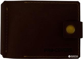 Акция на Зажим для денег Pro-Covers PC03980035 Темно-коричневый (2503980035003) от Rozetka