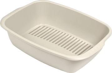 Акция на Туалет для котов из 3 лотков MPS Spa Miso 54x38x16 см Sand (8022967064156) от Rozetka