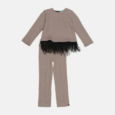 Акция на Костюм (джемпер + брюки) ANDRE TAN Kids K30059 98-104 см Мокко (7771000104731) от Rozetka