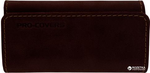Акция на Ключница Pro-Covers PC03810035 Темно-коричневая (2503810035005) от Rozetka