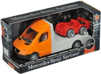 Акция на Автомобиль Tigres Mercedes-Benz Sprinter Эвакуатор Оранжевый (39662) от Rozetka