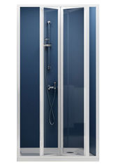 Душевая дверь RAVAK SDZ3-90 Transp white 02V70100Z1 от Rozetka