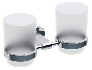 Акция на Стакан для ванной двойной RAVAK Chrome CR 220 X07P189 от Rozetka