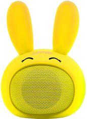 Акция на Акустическая система Promate Bunny Yellow (bunny.yellow) от Rozetka