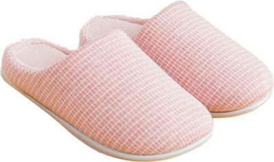 Акция на Комнатные тапочки Slippers QF8805 39/40 Розовые (6970964070903) от Rozetka