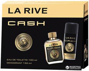 Акция на Набор для мужчин La Rive Cash туалетная вода 100 мл + дезодорант 150 мл (5906735237412) от Rozetka