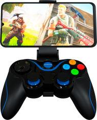 Акция на Беспроводной геймпад GamePro Bluetooth Android/iOS Black (MG550) от Rozetka