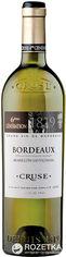 Акция на Вино Cruse Semillon-Sauvignon Bordeaux 6-е поколение белое сухое 0.75 л 12% (3500610045806) от Rozetka