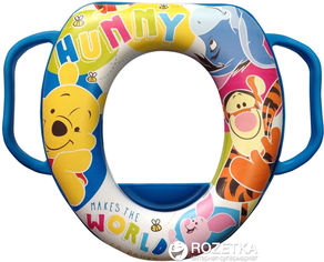 Детская мягкая накладка на унитаз Keeeper Winnie the Pooh (8679.36) от Rozetka
