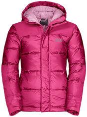 Пуховик Jack Wolfskin Mount Cook Jacket Kids 1608131-2054 140 см Розовый (4060477299914) от Rozetka