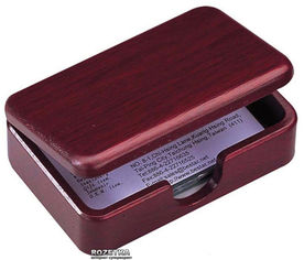 Деревянный контейнер для визиток Bestar Красное дерево (1315WDM) от Rozetka