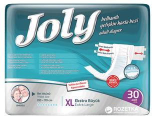Акция на Подгузники для взрослых Joly 4 Extra Large 30 шт (8690536805198) от Rozetka