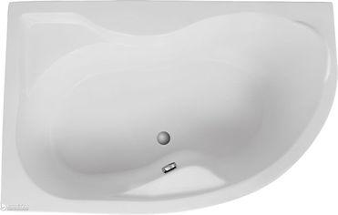 Акция на Ванна акриловая POLIMAT DORA 170х110 L + ножки от Rozetka