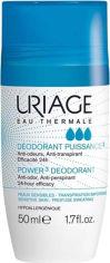 Акция на Дезодорант-антиперспирант тройной силы Uriage Power 3 Deodorant 50 мл (3661434004575) от Rozetka
