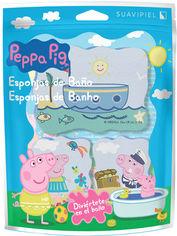 Губка для душа Suavipiel Peppa Pig Свинка Пеппа 3 шт (8410262500576) от Rozetka