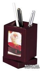 Вращающаяся подставка для ручек с фоторамкой Bestar Красное дерево (1591FDU) от Rozetka