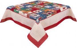 Скатерть гобеленовая Limaso Мастерская Деда Мороза RUNNER-483 137x137 см (ROZ6205033369) от Rozetka