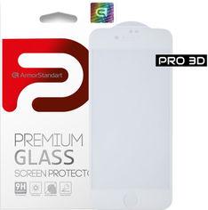 Акция на Защитное стекло ArmorStandart Pro Evo для Apple iPhone SE New/8/7 White (ARM55365-GP3D-WT) от Rozetka