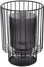 Подсвечник Home&Styling Collection стеклянный 18.5х13х13 Серый (ASH510950_grey) от Rozetka