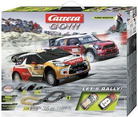 Автотрек Carrera GO!!! Давай поганяем, 3.6м (CR-20062433) от Stylus