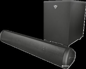 Акция на Trust GXT 664 Unca 2.1 Soundbar Speaker Set Black (22403) от Rozetka