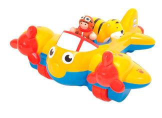 Акция на Игрушка инерционная Wow Toys Самолет Джонни Джангл (1013) от Rozetka