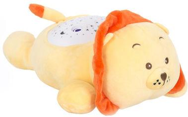 Мягкая музыкальная игрушка с проектором Funmuch Львенок с проектором (FM666-10) от Rozetka