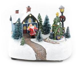 Светящаяся музыкальная фигурка Angel Gifts Домик 13.5 см (Я19854_AG44807_1) от Rozetka
